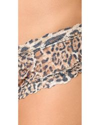 Hanky Panky | Brown After Midnight Leopard Nouveau Open Hipster | Lyst