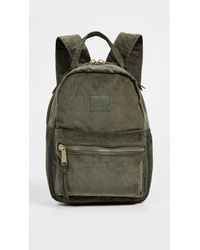 d20f44ca20d Herschel Supply Co. Nova Mini Corduroy Backpack in Green - Lyst