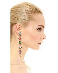 Erickson Beamon - Multicolor Sunshine Of Your Love Earrings - Lyst