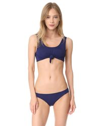 Beth Richards - Blue Naomi Bikini Bottoms - Lyst