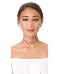 Gorjana - Metallic Power Gemstone Choker Necklace - Lyst