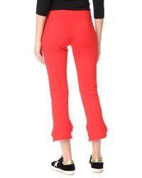 Lanston - Red High Low Pants - Lyst