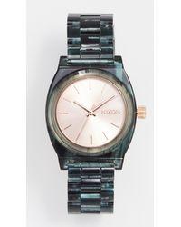 Nixon - Multicolor Medium Time Teller Watch, 35mm - Lyst