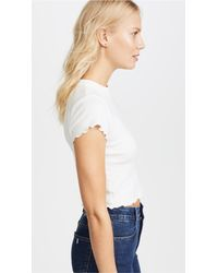 Joe's Jeans   White X Taylor Hill Baby Tee   Lyst