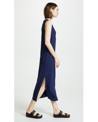 Rag & Bone - Blue Phoenix V Neck Dress - Lyst