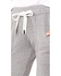 Stateside - Gray Heathered Sweatpants - Lyst