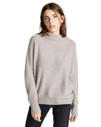Vince - Multicolor Boiled Cashmere Pullover Sweater - Lyst