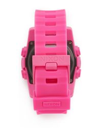 Nixon - Multicolor The Unit 40 Watch - Lyst