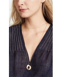 Jennifer Zeuner - Metallic Iris Fatima Necklace - Lyst