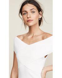 Solace London - White Adina Dress - Lyst