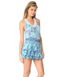 Poupette - Blue Beline Dress - Lyst