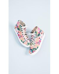 Keds - Blue X Rifle Paper Co Kickstart Sneakers - Lyst
