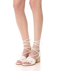 Paloma Barceló | White Cely City Sandals | Lyst