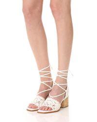 Paloma Barceló - White Cely City Sandals - Lyst