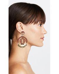 Elizabeth Cole - Multicolor Jolly Earrings - Lyst
