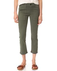 The Great - Green The Army Nerd Pants - Lyst