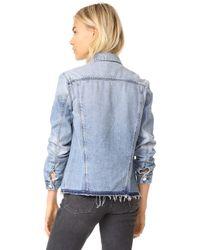 RTA - Blue Harmony Jacket - Lyst