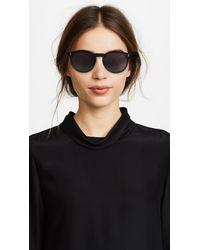 Illesteva - Black Sterling Sunglasses - Lyst