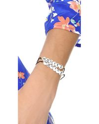 Venessa Arizaga - Black Homies Bracelet Set - Lyst