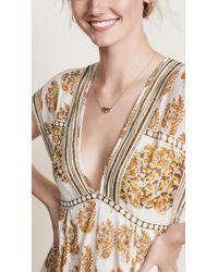 Gorjana - Metallic Palm Adjustable Necklace - Lyst