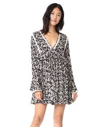 Free People - Black Like You Best Mini Dress - Lyst