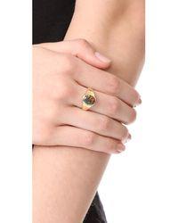 Jacquie Aiche - Metallic Opal Signet Ring - Lyst