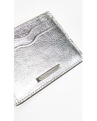 Rebecca Minkoff - Metallic Metro Card Case - Lyst