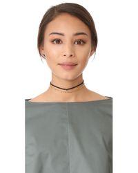 Gorjana - Black Fairfax Gemstone Choker Necklace - Lyst