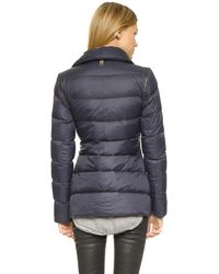 Mackage | Blue Qeren Convertible Down Jacket | Lyst