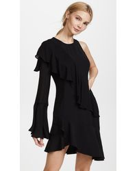 Parker - Black Neo Combo Dress - Lyst
