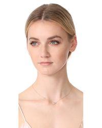 Jacquie Aiche - Metallic Diamond Eye Pendant Necklace - Lyst