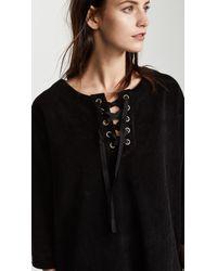 St. Roche - Black Danny Corduroy Dress - Lyst