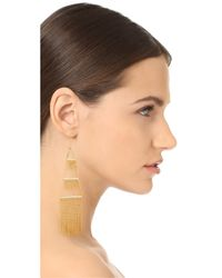Noir Jewelry - Metallic Naval Earrings - Lyst