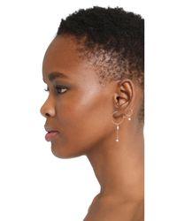 Luv Aj - Multicolor The Scattered Gem Mini Hoop Earrings - Lyst
