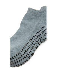 Pointe Studio - Gray Union Cushioned Grip Socks - Lyst