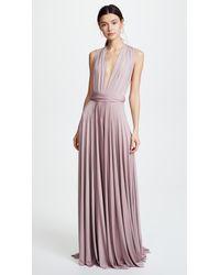 Twobirds - Purple Convertible Maxi Dress - Lyst