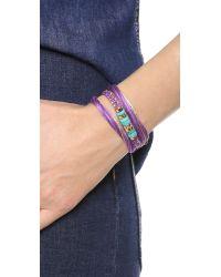 Aurelie Bidermann - Purple Takayama Bracelet - Lyst