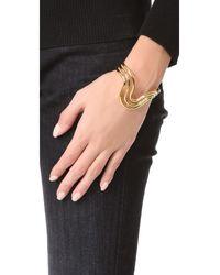 Aurelie Bidermann - Metallic Alcazar Bracelet - Lyst
