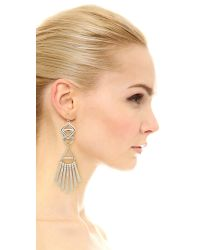 Adia Kibur - Metallic Terry Earrings - Lyst