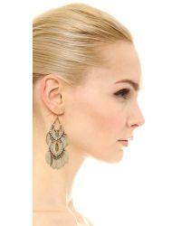 Adia Kibur - Green Sari Earrings - Lyst