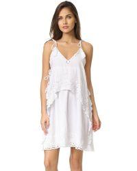 Antik Batik | White Lyly Dress | Lyst