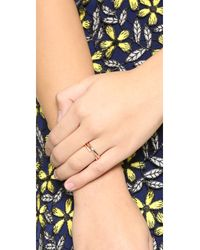 Ariel Gordon - Metallic Skinny Tire Ring - Lyst