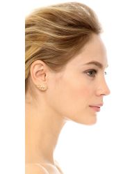 Amber Sceats - Metallic Jango Earrings - Lyst