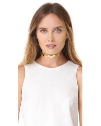 Amber Sceats - Metallic Parker Choker Necklace - Lyst