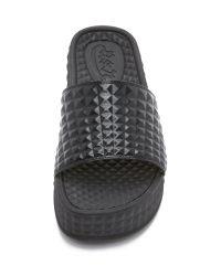 Ash - Black Scream Slide Sandals - Lyst