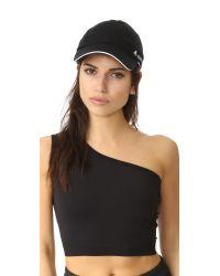Adidas By Stella McCartney - Black Run Cap - Lyst