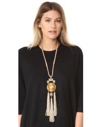 Ben-Amun - Gray Statement Necklace - Lyst