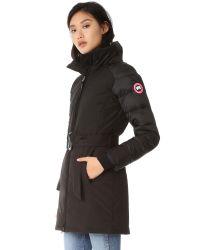 Canada Goose - Black Rowan Parka - Lyst