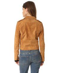 Capulet - Brown Stella Moto Jacket - Lyst