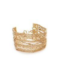 Capwell & Co - Metallic Golden Gala Bracelet - Lyst